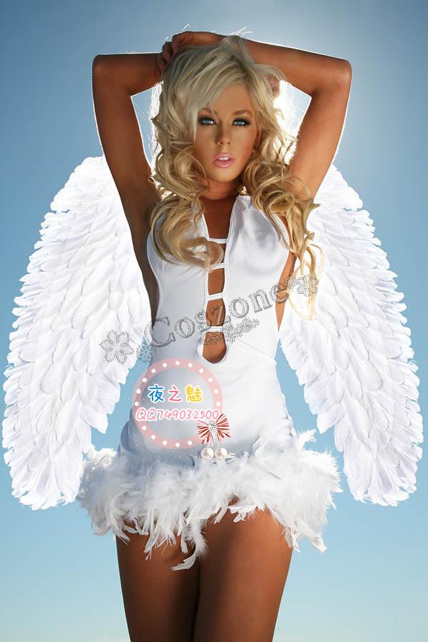 ウィング付き  セクシーで可愛い Angel エンジェル 天使 風のコスチューム