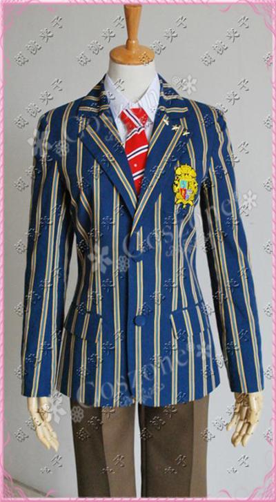 うたの☆プリンスさまっ♪早乙女学園 男性制服 校章をSクラスかAクラスを選べる